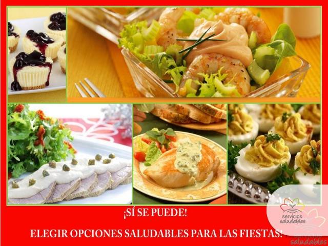 Servicios saludables opciones de comidas para las fiestas for Opciones de cenas saludables