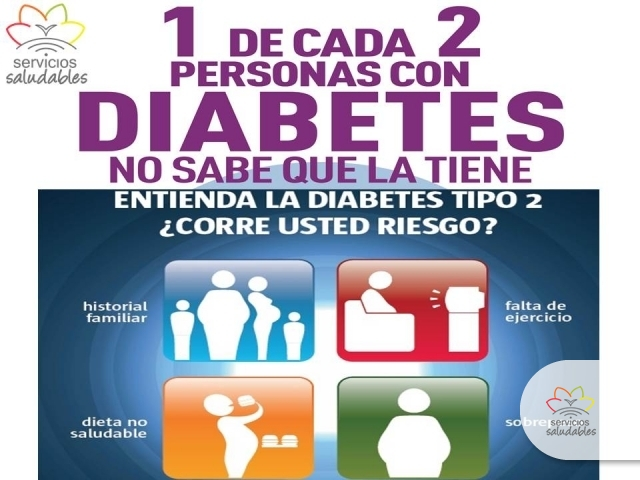 Servicios Saludables   sabias que la diabetes se puede